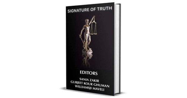 SIGNATURE OF TRUTH . A poetic collection